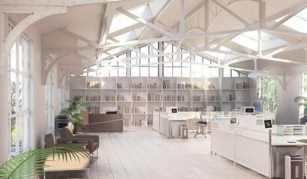 Büroflächen-Sanierung